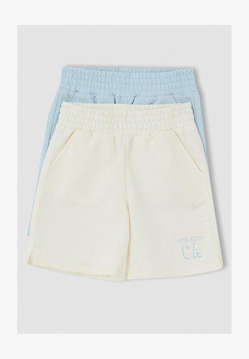2 PACK - Shorts - beige
