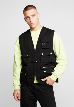 WORKER  - Veste sans manches - black