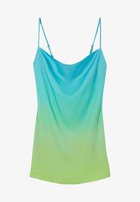 Bershka - Robe d'été - turquoise - 4