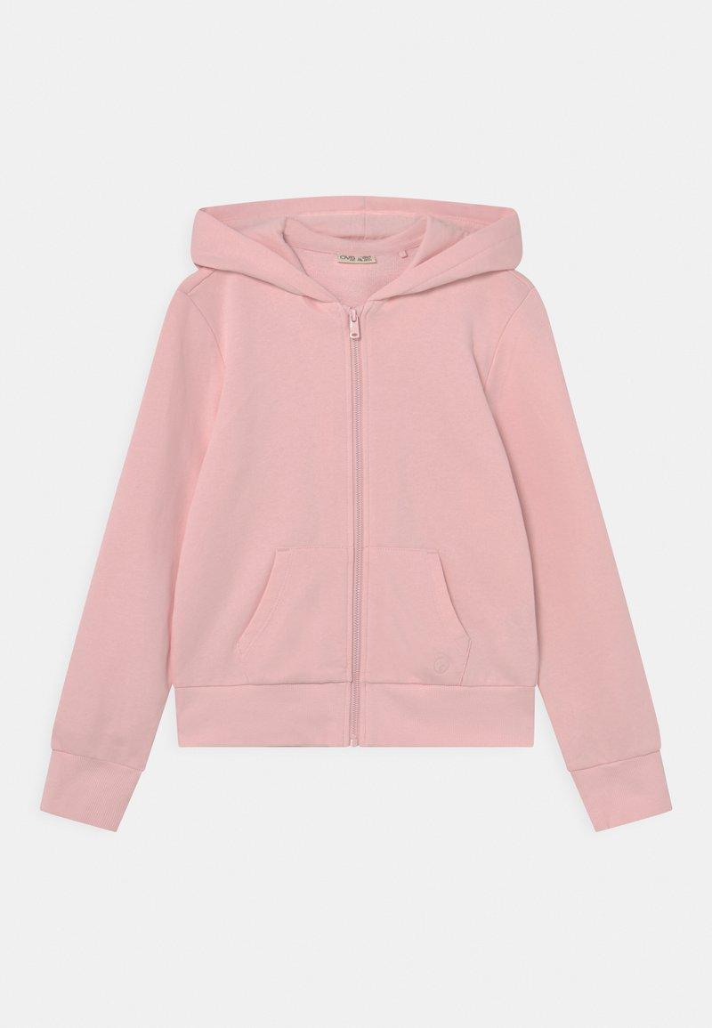 OVS - TEEN HOODED - Zip-up sweatshirt - pink dogwood