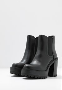 Madden Girl - KAMORA - High heeled ankle boots - black paris - 4