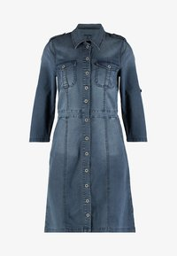 Cream - UNIFORM DRESS - Denimové šaty - royal navy blue - 5