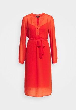 DRESS - Robe d'été - red orange
