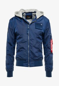 Alpha Industries - HOOD CUSTOM - Bomberjacka - new navy - 5