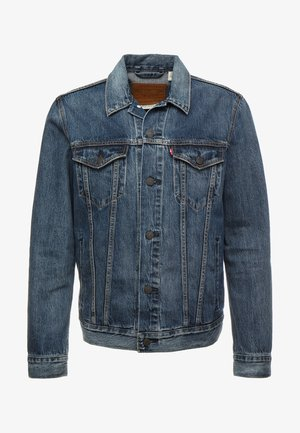 THE TRUCKER JACKET - Jeansjacka - mayze trucker
