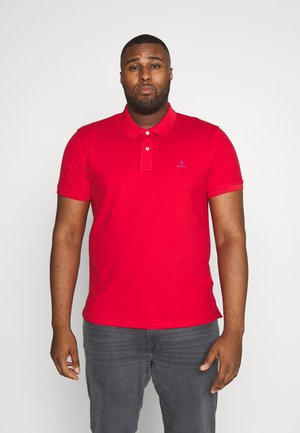 PLUS RUGGER - Polo shirt - bright red