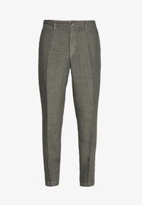 120% Lino - TAILORED TROUSERS - Trousers - anthracite - 5
