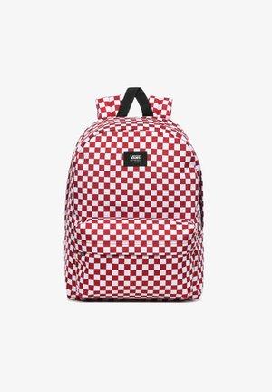 UA OLD SKOOL III BACKPACK - Rucksack - chili pepper checkerboard