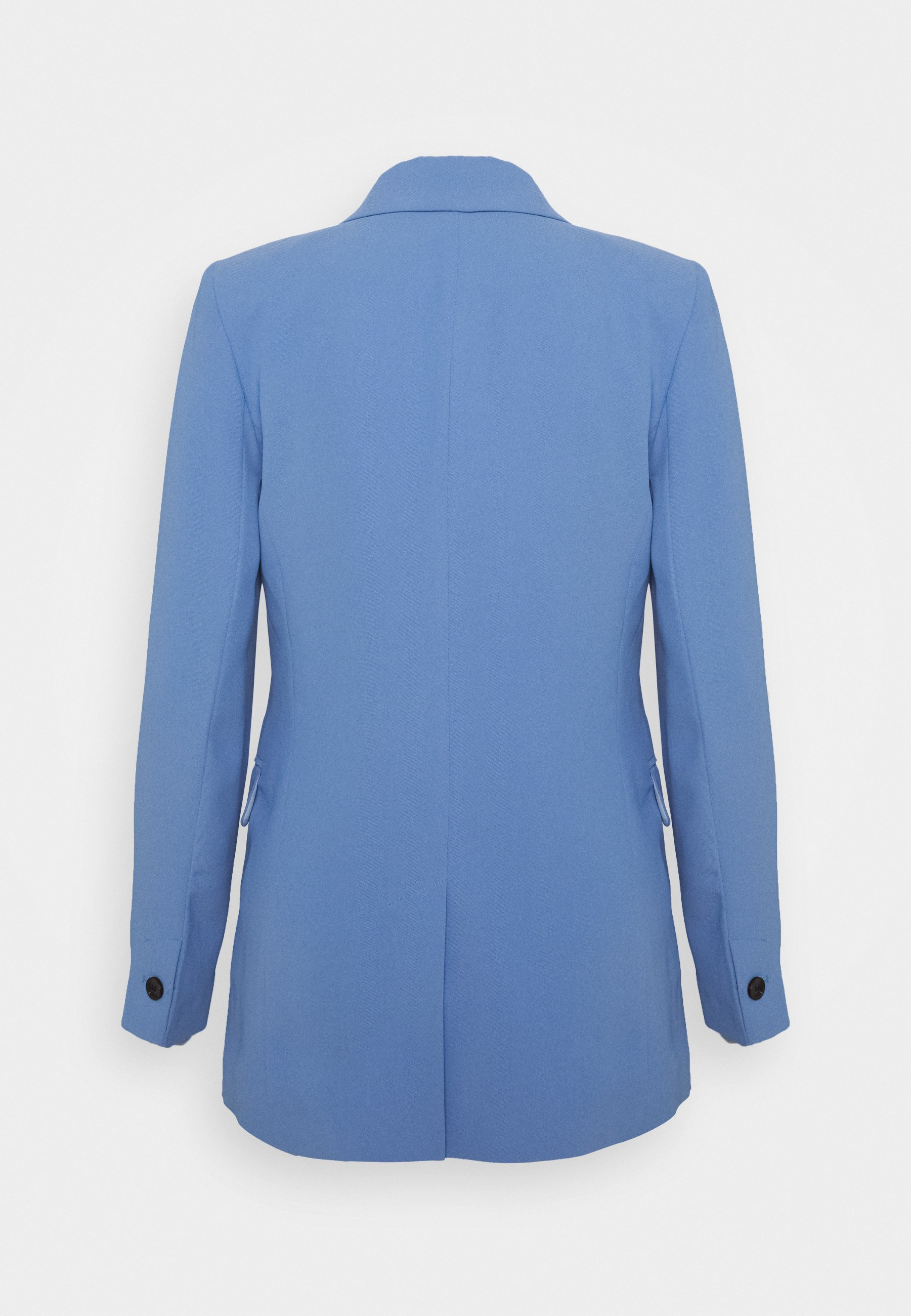 Topshop TWILL DOUBLE BREASTED SUIT JACKET - Bleiseri - blue UVs4r
