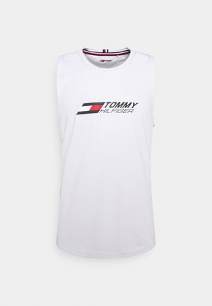 ESSENTIALS TRAINING TANK - Débardeur - white