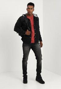 Redefined Rebel - FLORENCE - Jeans slim fit - black stone - 1