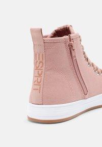 Esprit - SIMONA  - Sneakers hoog - old pink - 5