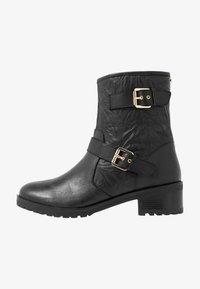 Faith - BIKE - Cowboy/biker ankle boot - black - 1