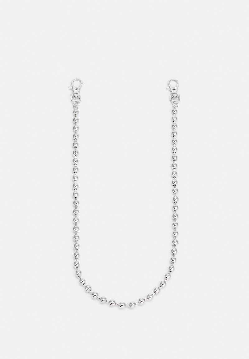 Topman - BALL WALLET CHAIN - Other - silver-coloured