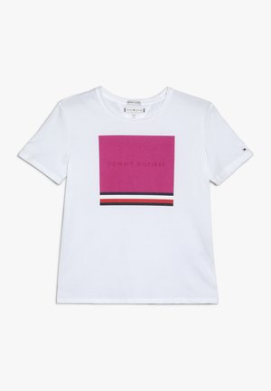 TEE SUMMER - Print T-shirt - white