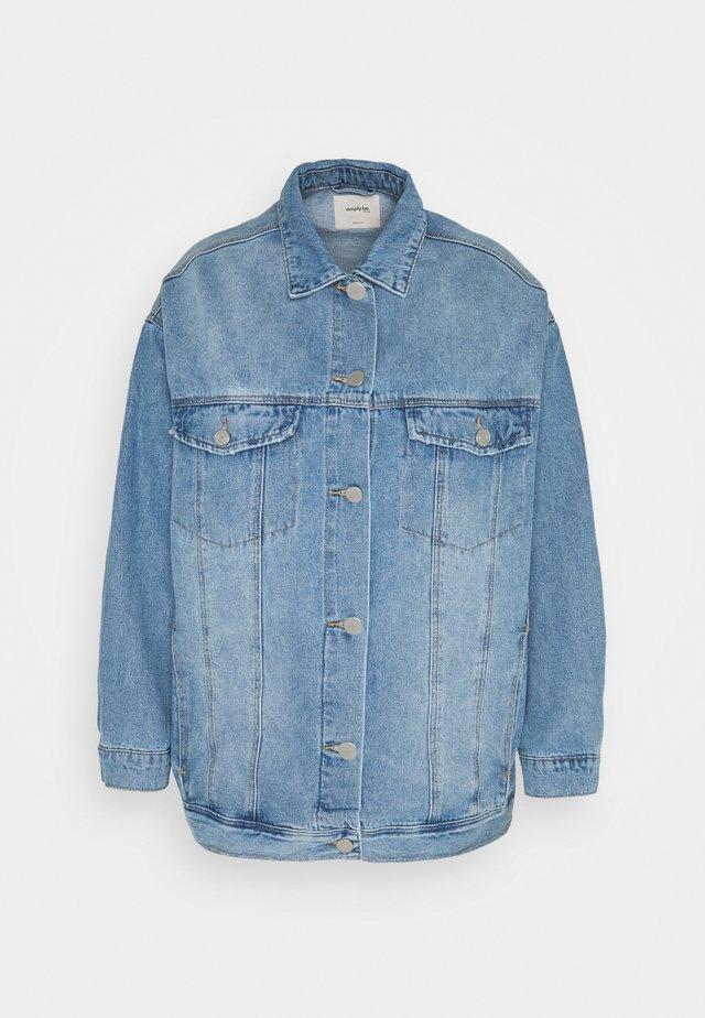 OVERSIZED EX BOYFRIEND JACKET  - Abrigo corto - blue vintage/bleach