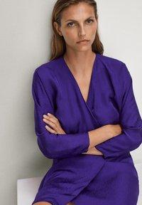 Massimo Dutti - Day dress - dark purple - 2