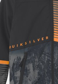 Quiksilver - SILVERTIP UNISEX - Snowboardová bunda - true black parafinum - 3