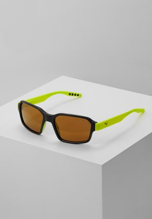 Sonnenbrille - black/yellow/gold