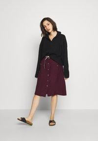 Ragwear - ANTOLIA DRESS - Day dress - plum - 1