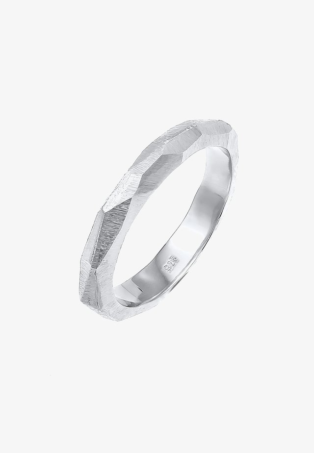 BASIC COUPLE - Ring - silber