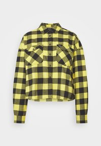 Tommy Jeans - GINGHAM CHECK  - Button-down blouse - star fruit yellow/black - 5