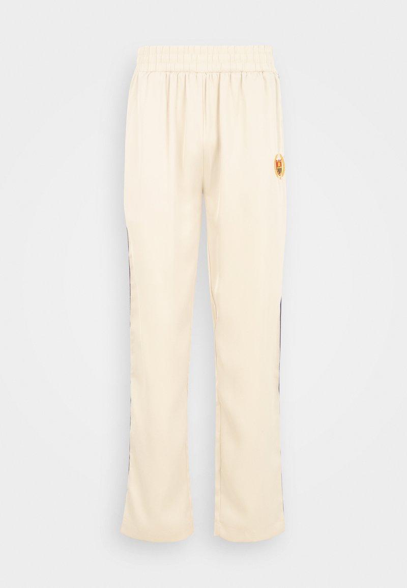 Bel-Air Athletics - ACADEMY CREST TRACK PANT UNISEX - Pantalones deportivos - notebook white