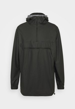 ULTRALIGHT ZIP ANORAK UNISEX - Vodotěsná bunda - black