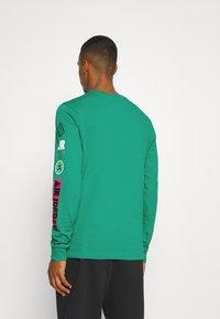 Jordan - MOUNTAINSIDE CREW - Long sleeved top - neptune green - 2