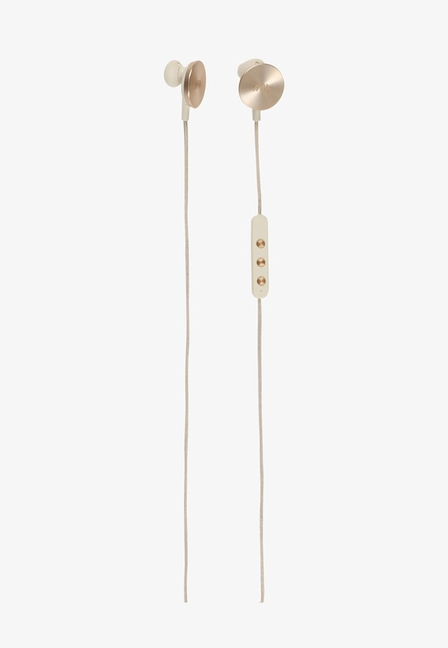 BUTTONS  - Headphones - gold-coloured