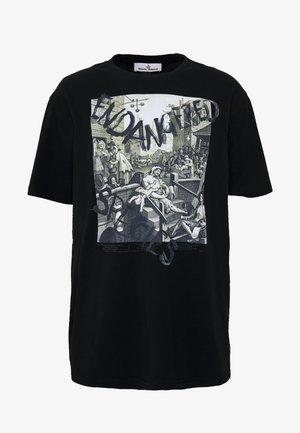 OVERSIZED CLASSIC - Camiseta estampada - black