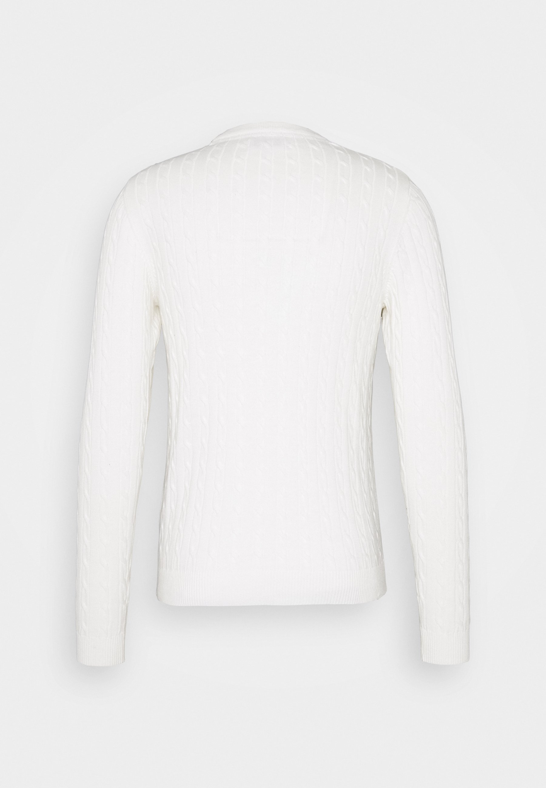 Jack & Jones Jjrichard Crew Neck - Strikkegenser Cloud Dancer