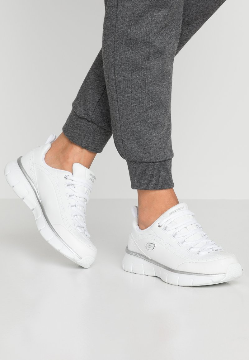 Skechers - SYNERGY 3.0 - Trainers - white/silver