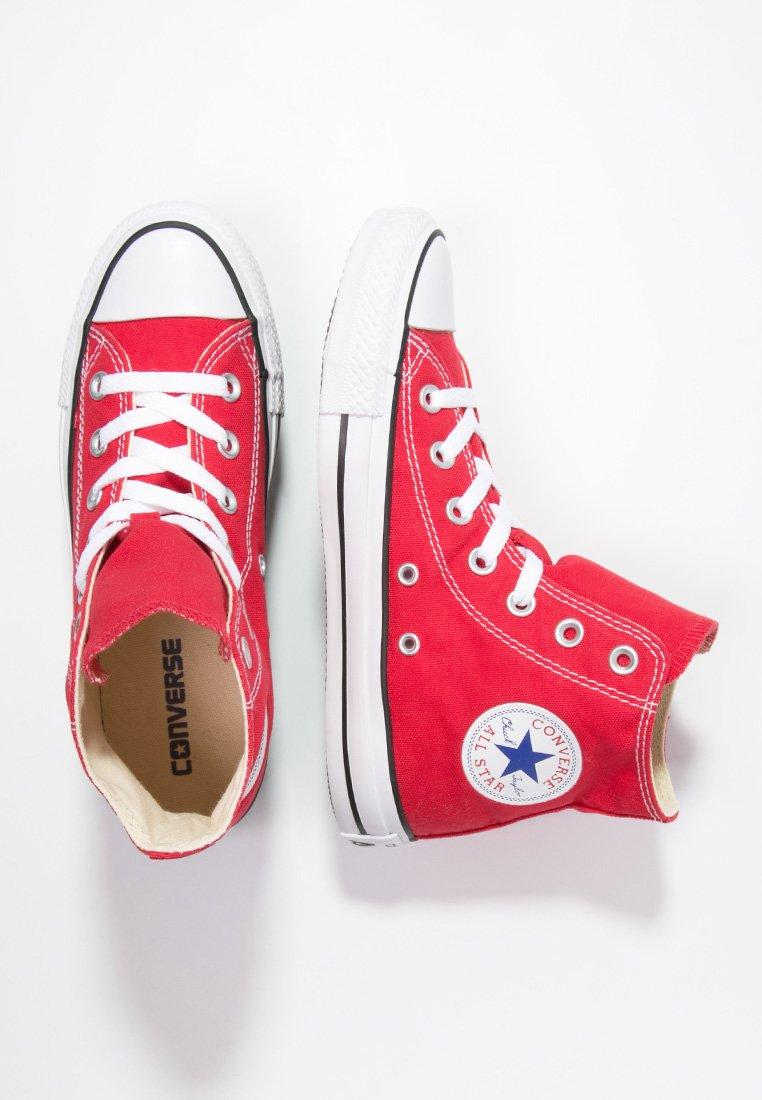 Caballo triángulo Profesión  Converse CHUCK TAYLOR ALL STAR HI - Zapatillas altas - red/rojo - Zalando.es