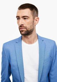 s.Oliver BLACK LABEL - MIT WEBSTRUKTUR - Suit jacket - blue - 4