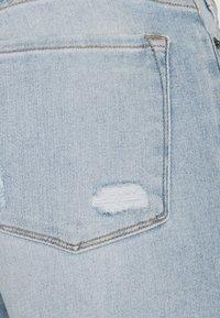 Frame Denim - SKINNY DE JEANNE CROP RAW EDGE AFTER WASH - Skinny-Farkut - light blue - 2