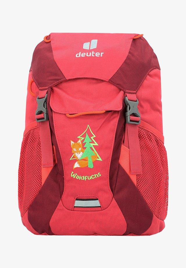 Backpack - cardinal maron