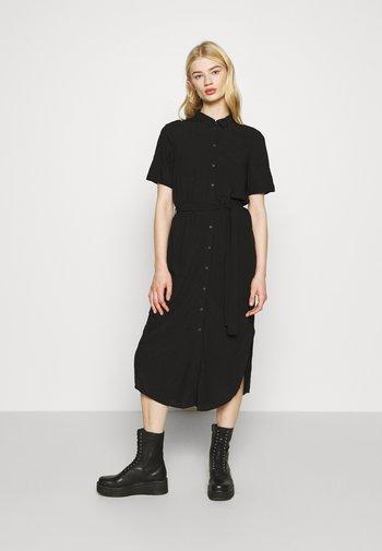 PCCECILIE DRESS - Shirt dress - black