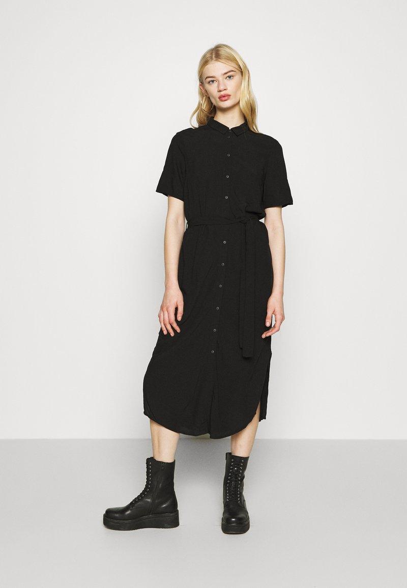 Pieces - PCCECILIE DRESS - Shirt dress - black