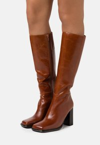 Jeffrey Campbell - ZELDOA - High heeled boots - tan - 0