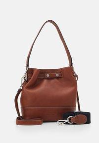 Marc O'Polo - BUCKET BAG - Handbag - authentic cognac - 0
