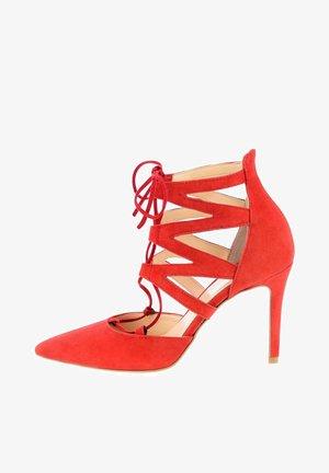 NOCERA  - High heeled sandals - rot
