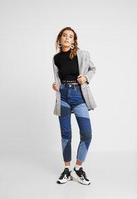Abrand Jeans - A BROOKE - Jumper - black/white - 1