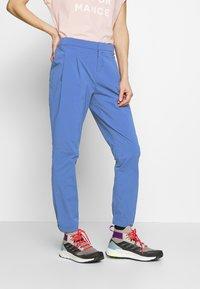 adidas Performance - TERREX EXPLORE  - Pantalon classique - dark blue - 0