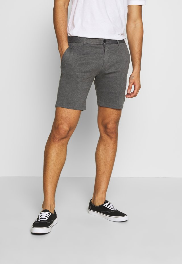 JJIPHIL CHINO - Shortsit - grey melange