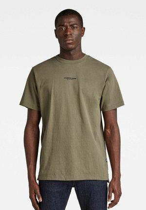 CENTER CHEST LOGO GR LOOSE - Basic T-shirt - green