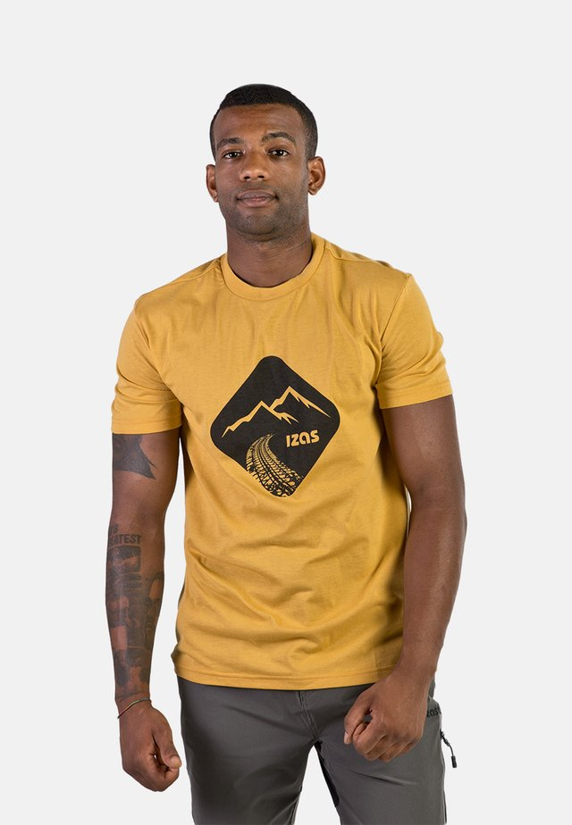 T-shirt imprimé - gold honey