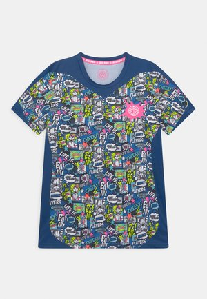 AAMUN TECH  - T-shirt print - dark blue