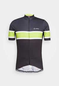 LÖFFLER - BIKE PACE - T-Shirt print - black/light green - 4