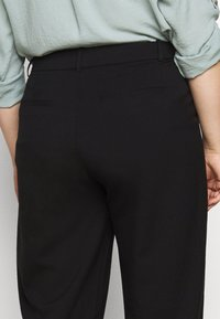Kaffe Curve - KCMETA PANTS SUITING - Trousers - black deep - 4